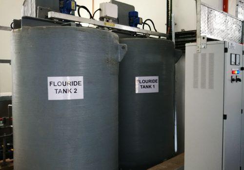 Fluoride Dosing System