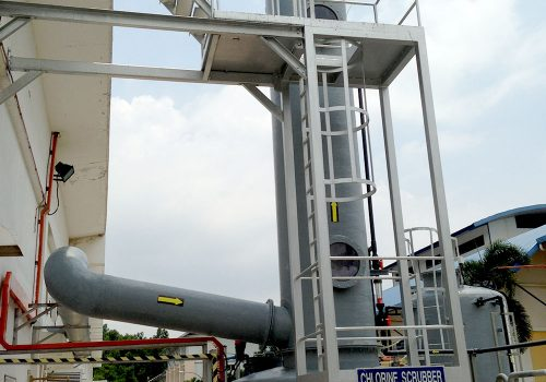Wet Chlorine Scrubber System