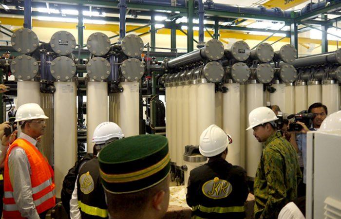 Bukit Barun UF Membrane Plant